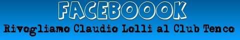 Rivogliamo Claudio Lolli al Club Tenco - Iscriviti