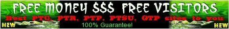 Free visitors & Free money