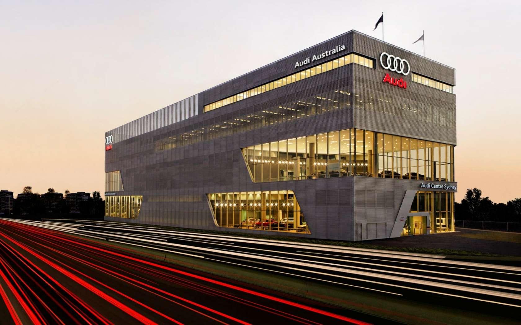 The Most Beautiful Car Dealerships Audi Lighthouse Terminal - Audi car dealers