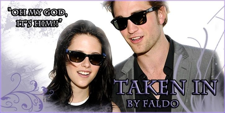 Banner of Bella and Edward for story Take In