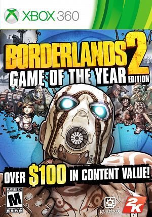 Borderlands 2 Game of the Year Edition XBOX360-COMPLEX [REGION FREE]