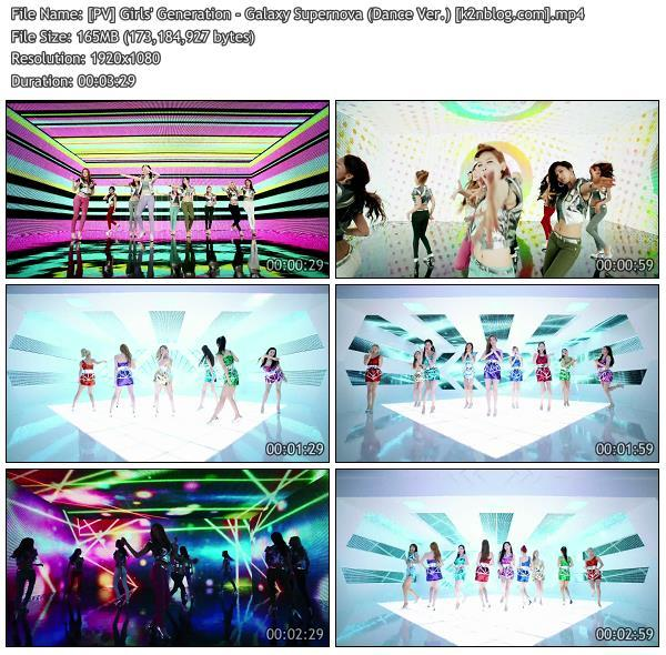 (PV) Girls' Generation - Galaxy Supernova (Dance Ver.) (HD 1080p Youtube)