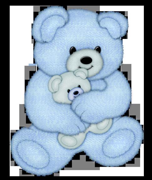 Animales infantiles ositos azules - El osito azul ...