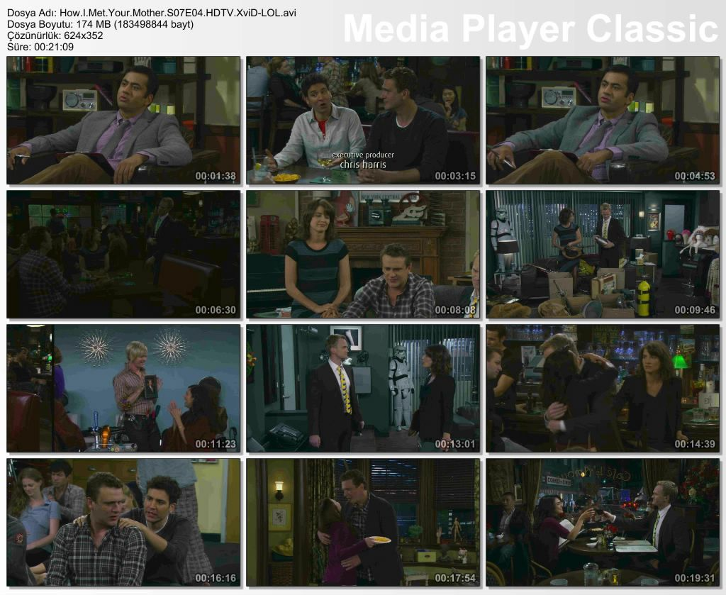 How I Met Your Mother 7. Sezon 4. B�l�m DVBRip XviD T�rk�e Altyaz�l� Tek Link indir