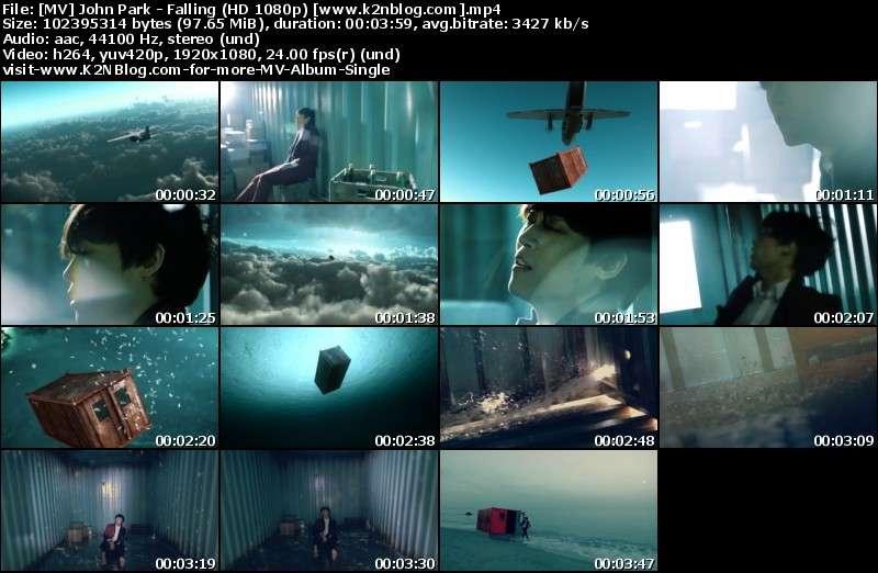 [MV] John Park - Falling (HD 1080p Youtube)